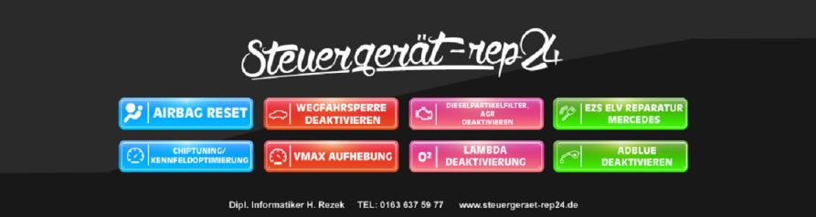 Steuergerät Profi24 Mercedes Zündschloss Reparatur